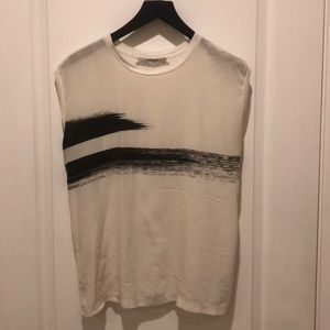 Silk T-shirt by AllSaints, size S